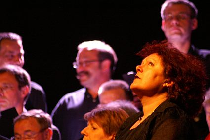 concert of the Choir of the University of Maine conducted by Evelyne Béché